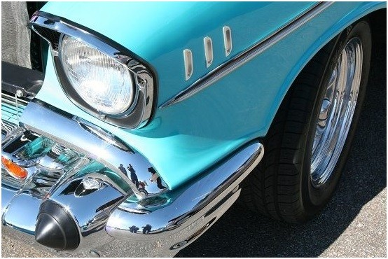 57 Bel Air Front End