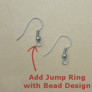 Earring jewelry findings