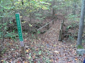 Trails are well marked and easy to follow.