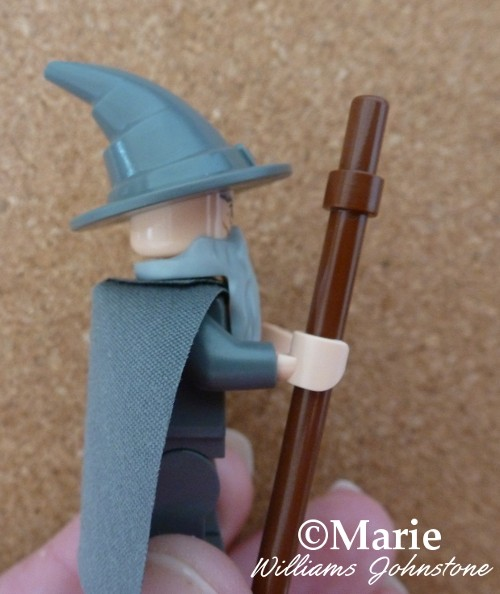 I like the curve on Gandalf's Wizard Hat on his Lego Minifig