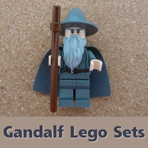 Lord of the Rings and Hobbit Lego Sets with Gandalf the Wizard In Them