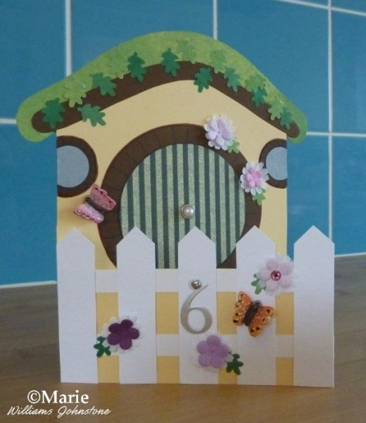 Make a Hobbit Home Card