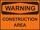 Image: Construction Sign
