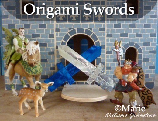 Origami Sword Paper Folding Projects