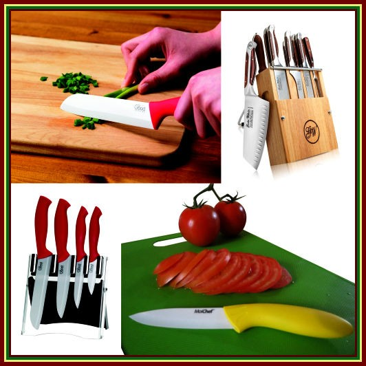Sharp Knives for Kitchen