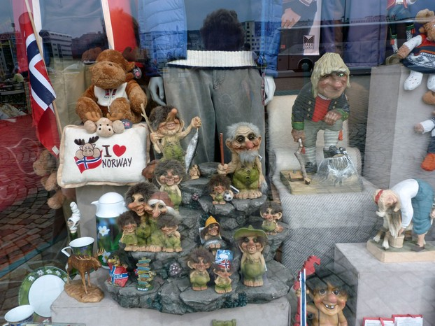 Trolls are a Popular Buy in Norway