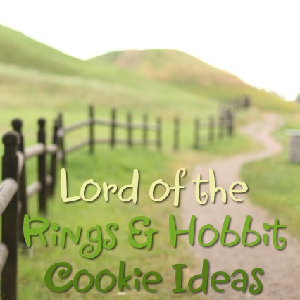 Lots of Lord of the Rings and Hobbit Themed Cookie Ideas