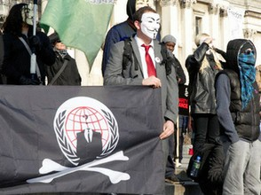 Image: Anonymous in Russia