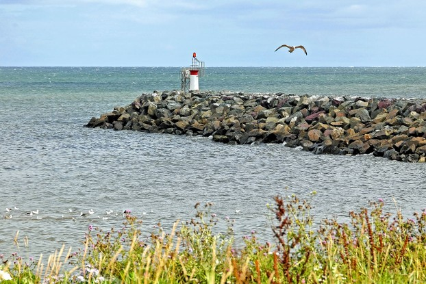 Glace Bay North Breakwater Lighthouse, eastern Cape Breton Regional Municipality, northeastern Nova Scotia, eastern Canada