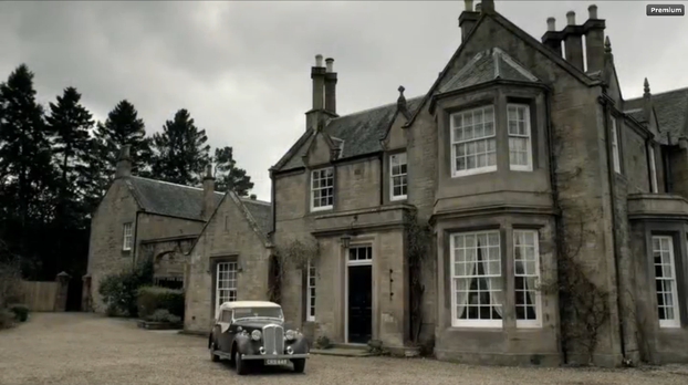 Image: Reverend Wakefield's House in Outlander