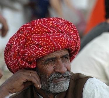 Rajput Warrior in Turban