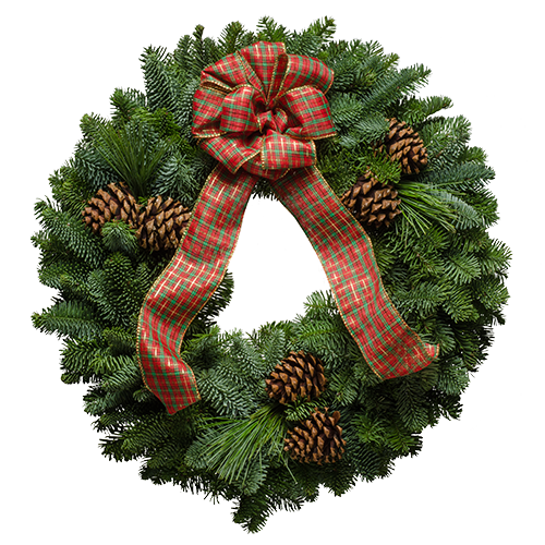 Image: Highlander Christmas Wreath