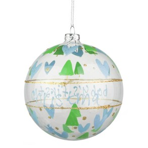 Gisela Graham Baby's First Christmas Bauble