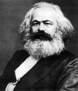 Marx Approves of Beard Brushes