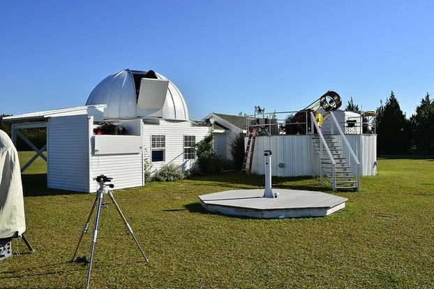 Private observatory owned by Chiefland resident