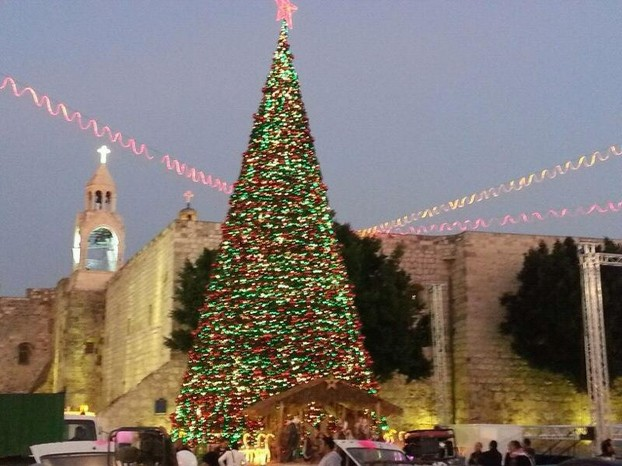 Bethlehem, central West Bank
