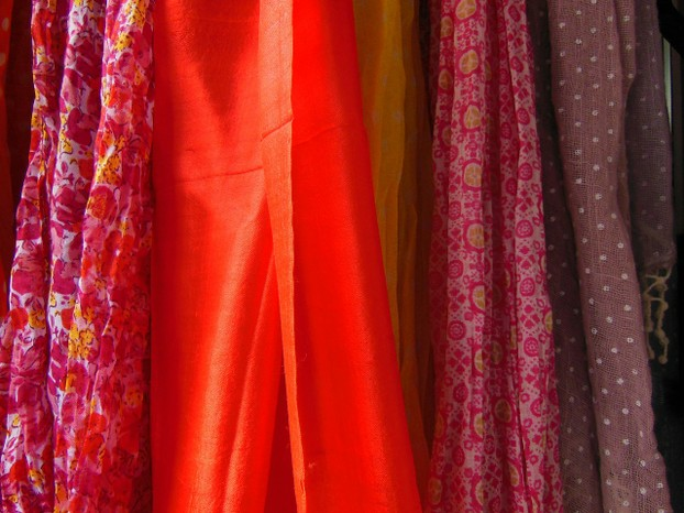 Jewel Colours of the Scarves