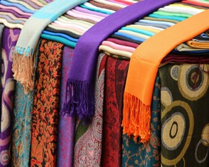 Cotton, Silk & Polyester Scarves