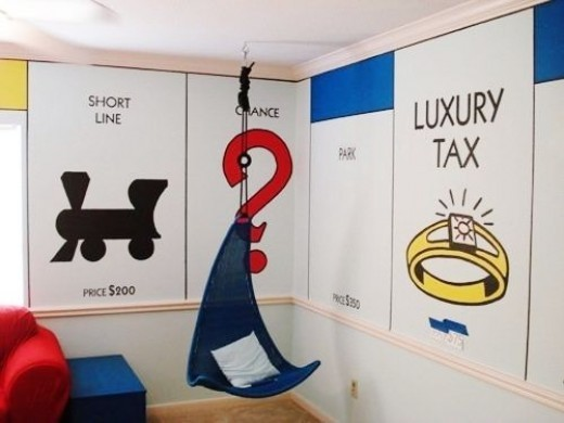Personalized monopoly board game unique gift ideas for Room decor gifts