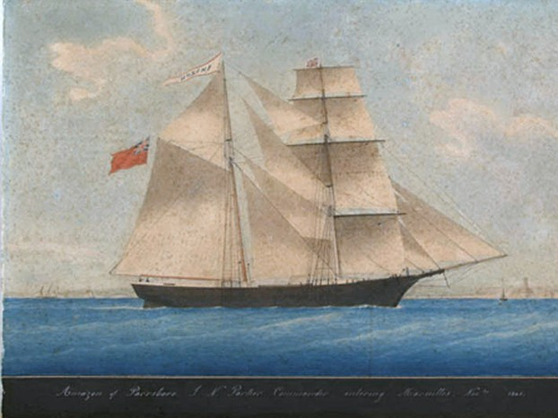 Mary Celeste as Amazon