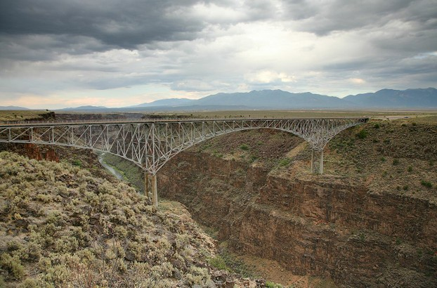 Route 64 Rio Grande Gorge Bridge near Taos, north central New Mexico