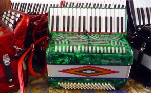 If you hear music, chances are it will be provided by an Accordion
