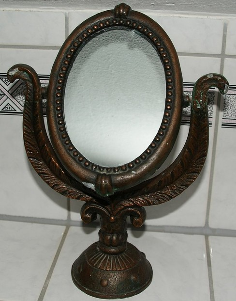 old makeup mirror