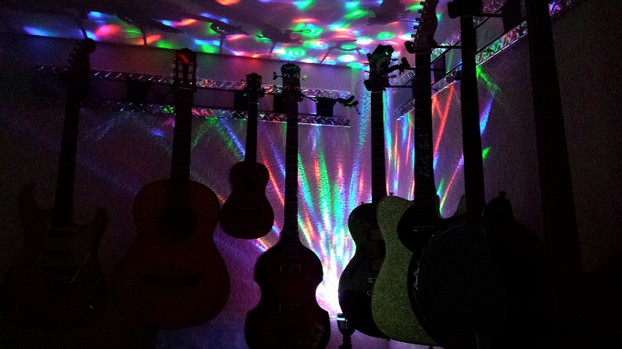guitars and nightlights