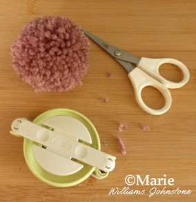 Clover pom pom maker instructions 14