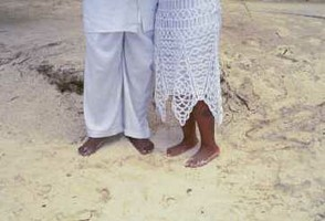 Getting Married in Your Bare Feet