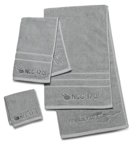 Three-piece bath towel set