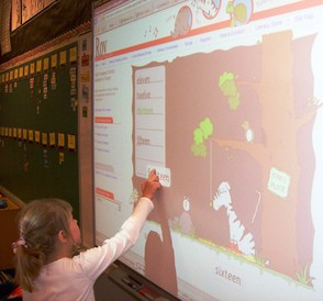 Interacting With a Smartboard