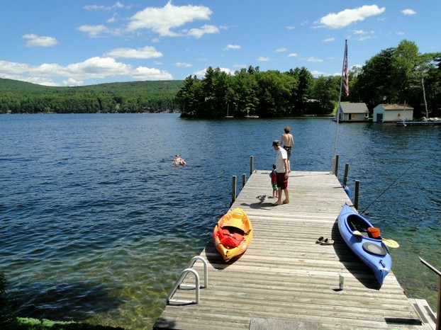 Lake Sunapee is known for it's clean, clear water.