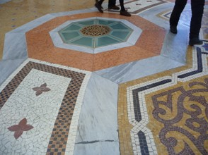 Magnificent Floor in the Galleria Emmanuel Shopping Centre