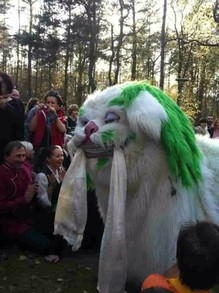 Snow Lion Dance