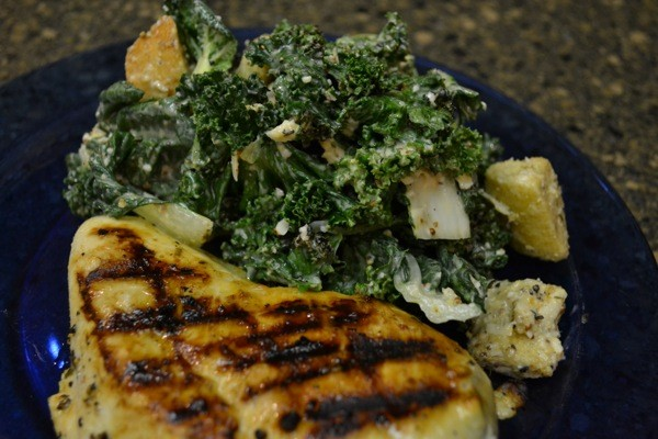 Making a flavorful grilled chicken breast is great any time of the year.