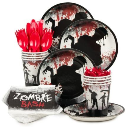 Zombie Birthday Party Decorations