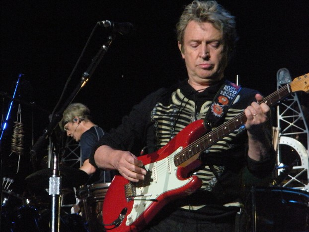 Andy Summers and Stewart Copeland of The Police, on stage August 7, 2008.