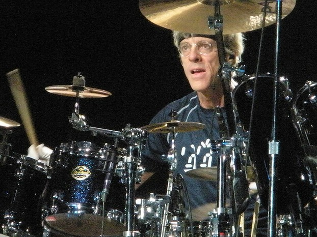 Stewart Copeland on stage, August 2008