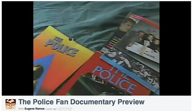 The Police Fan Documentary Screencap