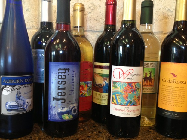 New Jersey wines in my collection.