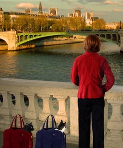 Watching the Evening Gather Along the Seine