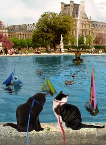 Boats and Ducks in the Tuileries