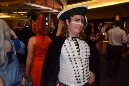 Adam Ant costume seen at Dragon*Con