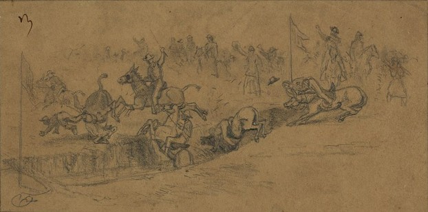 J.P. Morgan Collection of Civil War Drawings, gifted to LOC in 1919