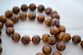 Pietersite beaded necklace