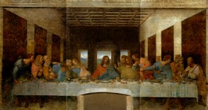 The Last Supper, fresco by Leonardo da Vinci