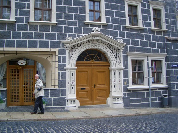 Facade of House in Gorlitz
