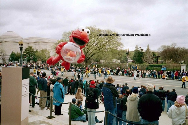 Elmo Balloon National Cherry Blossom Festival