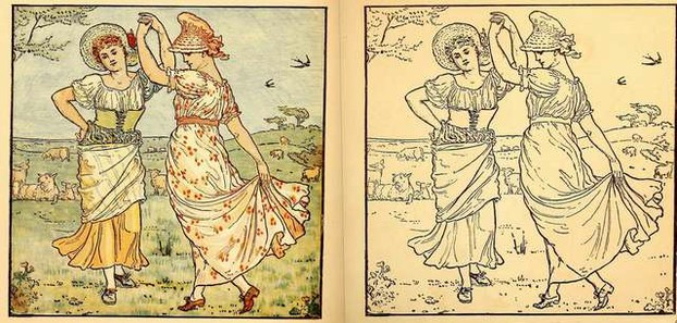 Painting Book by Walter Crane
